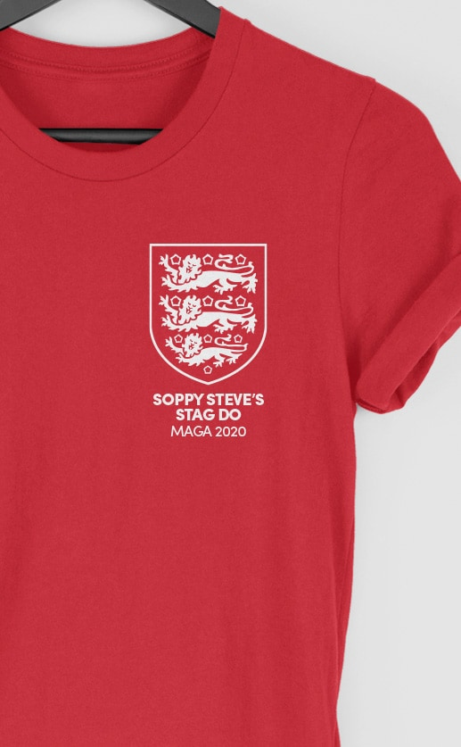 3 Lions – England – Top Left – Stag – Product