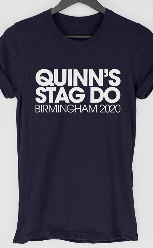 Chunk Personalised Stag Do T Shirt