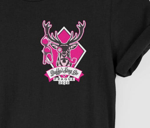 Stag Badge Classic Top Left