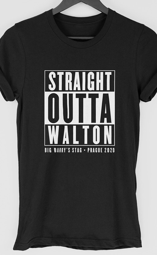 Straight Outta Stag T-Shirt