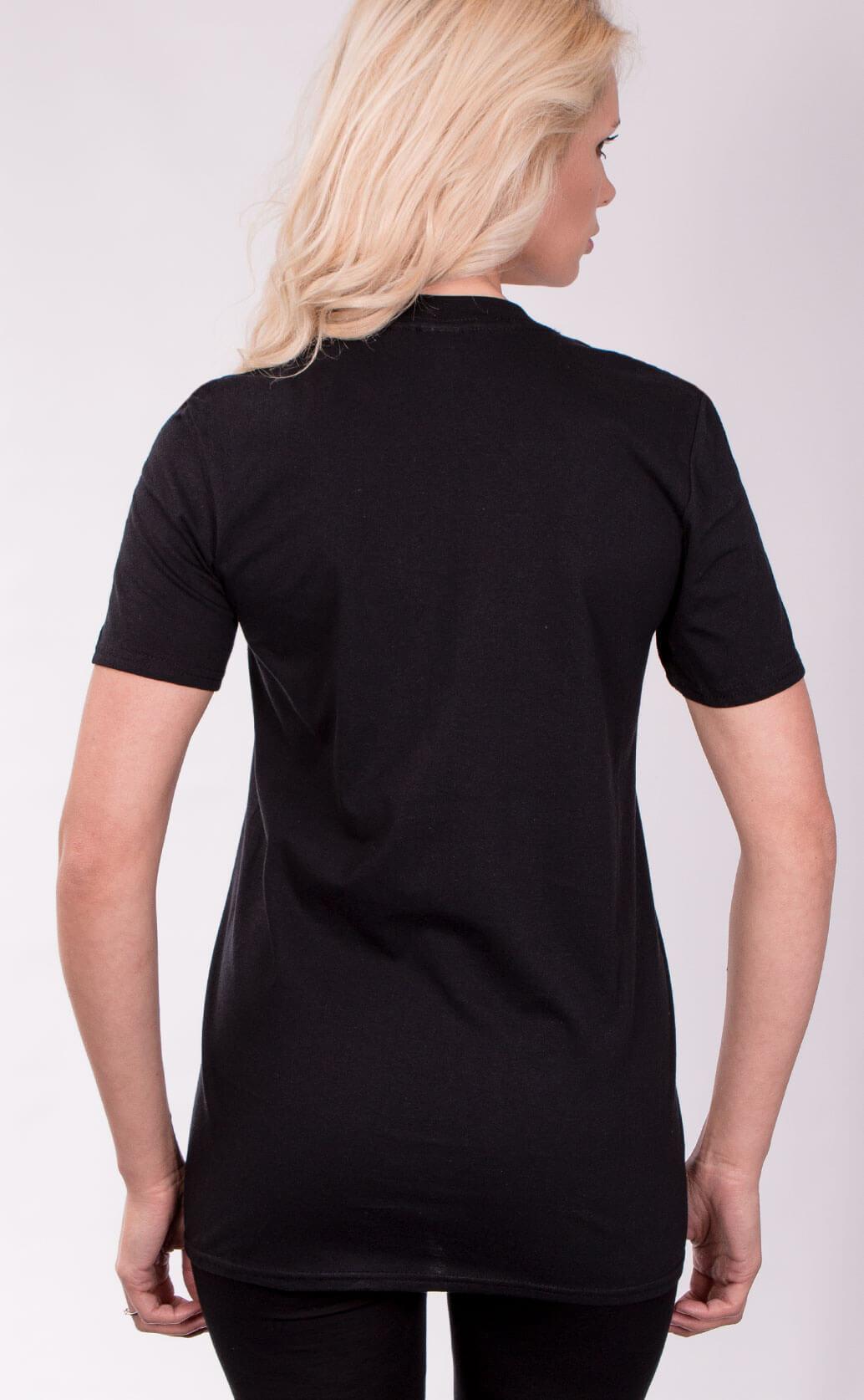 Size Guide Unisex T Shirt shirt type back