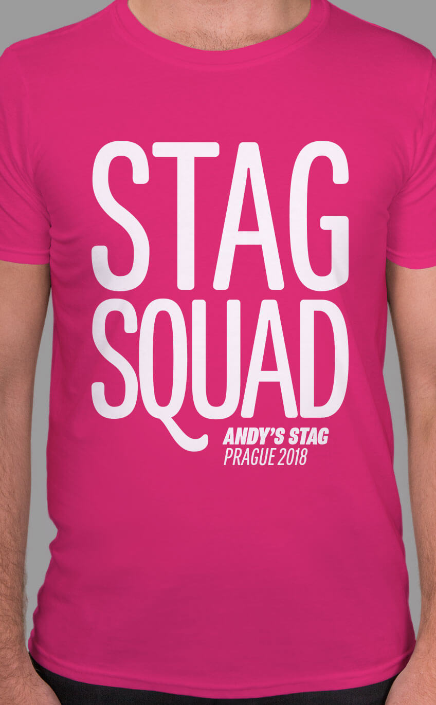 Stag Squad t-shirt design
