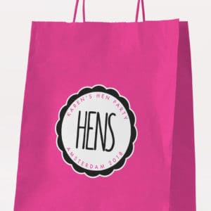 Hens Gift Bag - Personalised Hen Party Gift Bags