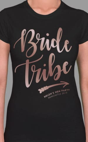 Bride Tribe 2 - Personalised Hen Party T Shirt