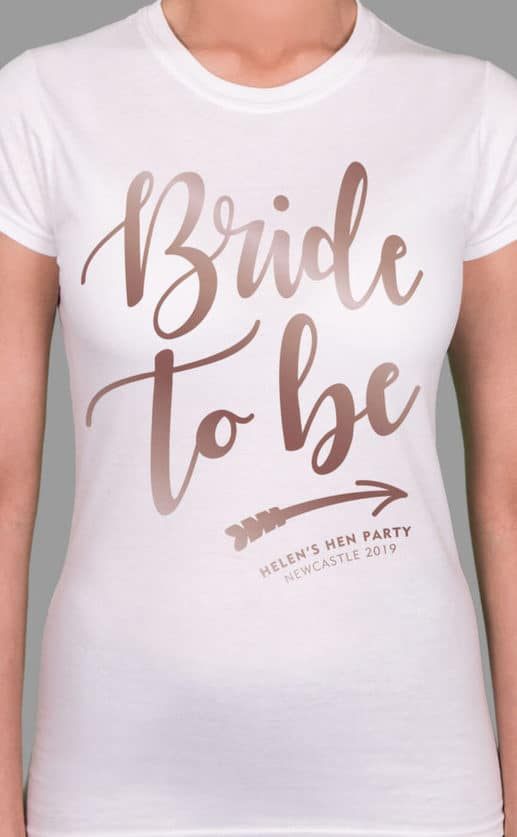 Bride Tribe 2 - Bride To Be - Personalised Hen Party T Shirt