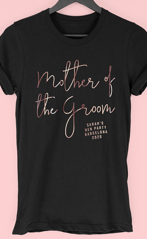 foil-mother-of-the-groom-hen-party-t-shirt-rose-gold-black
