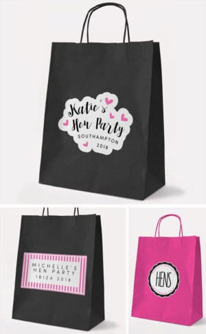 Hen Party Gift Bags & Ideas