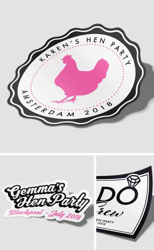 HEN PARTY STICKERS
