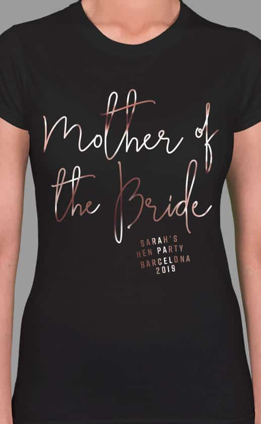 MOTHER OF THE BRIDE FOIL