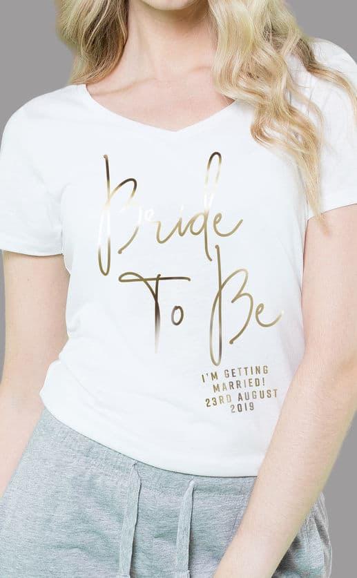 Bride To Be – Personalised Sleepy Pyjama Set