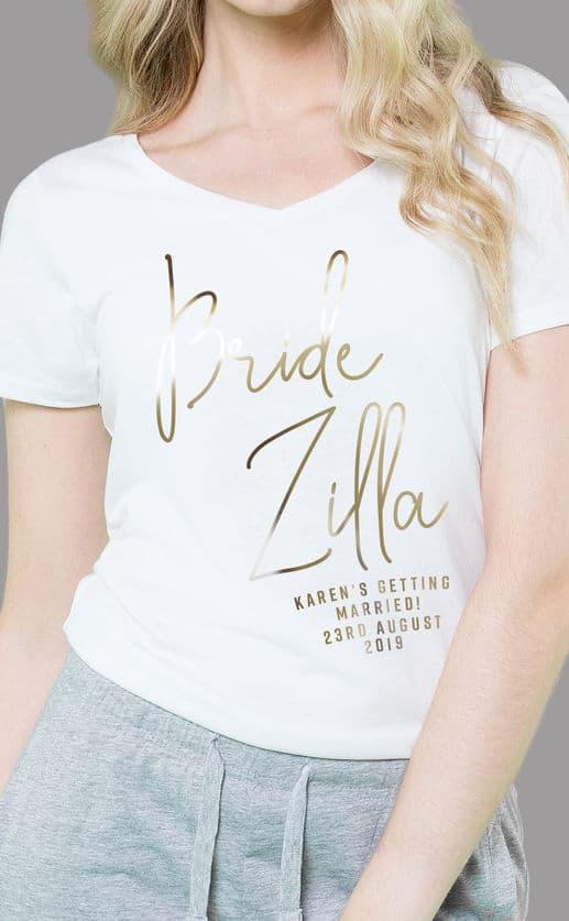 Bride Zilla – Personalised Sleepy Pyjama Set