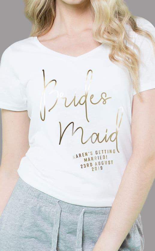 Bridesmaid – Personalised Sleepy Pyjama Set