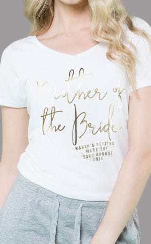 Mother of the Bride - Personalised Sleepy Pyjama Set