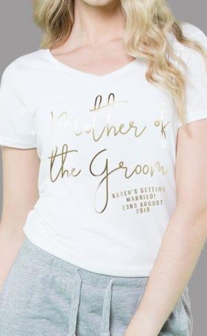 Mother of the Groom - Personalised Sleepy Pyjama Set