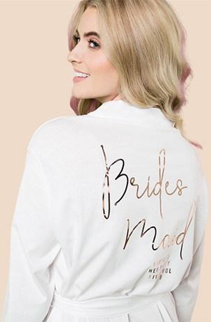 Foil Bridal Robes