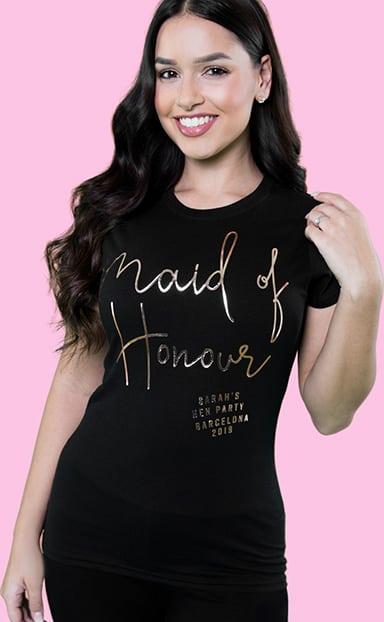 Shop Maid of Honour